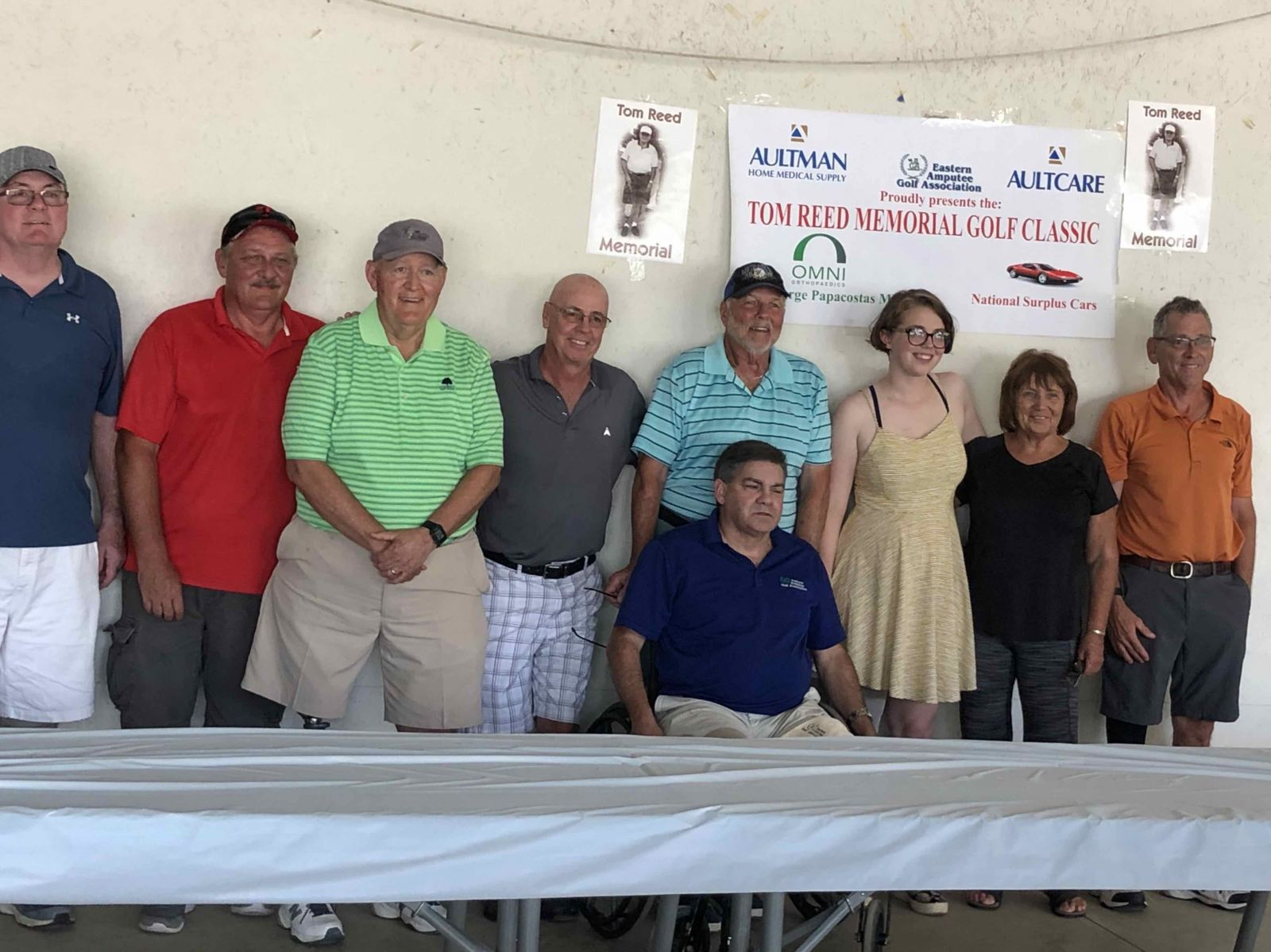 Yanke Bionics participated in the 17th Annual Tom Reed Memorial Golf Outing
